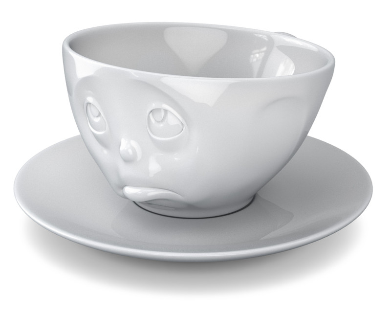fiftyeight och bitte tasse 1x tasse untertasse kaffeetasse. Black Bedroom Furniture Sets. Home Design Ideas